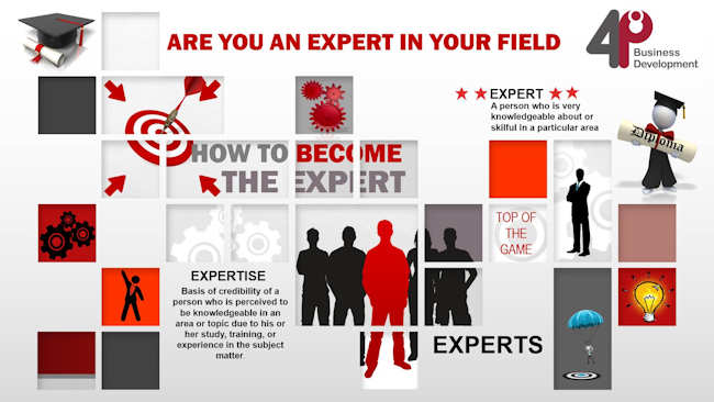 Are You An Expert In Your Field?