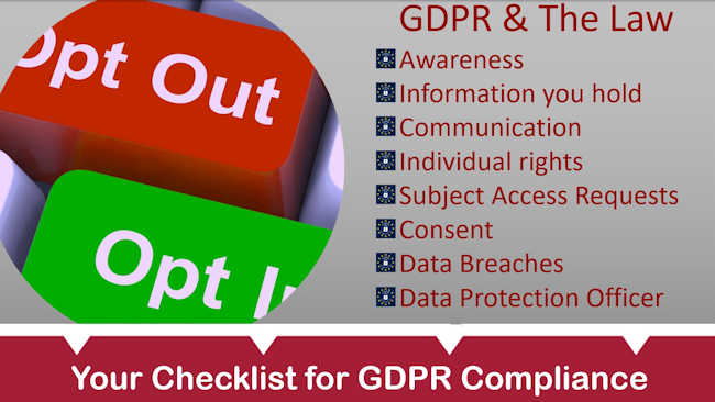 GDPR: Will You Be Caught Out By The New Laws?